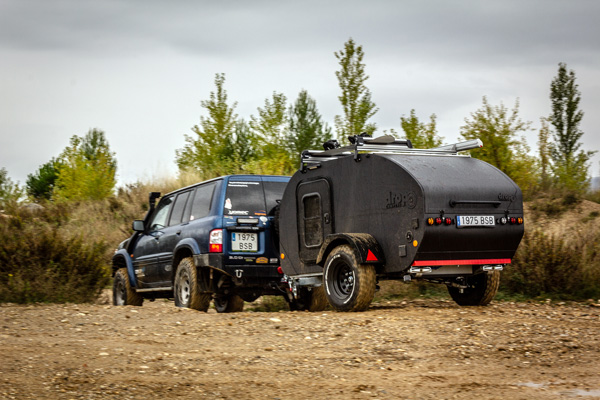 Dropland acción 4x4 Overland Teardrop Travel Trailer