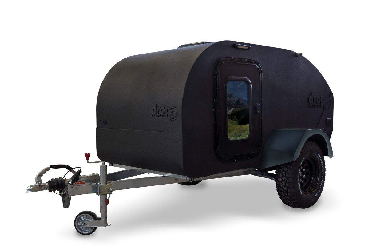 Minicaravana Drop Campers Dropland teardrop travel trailer