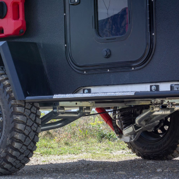 Sistema suspension minicaravana Dropland Drop Campers